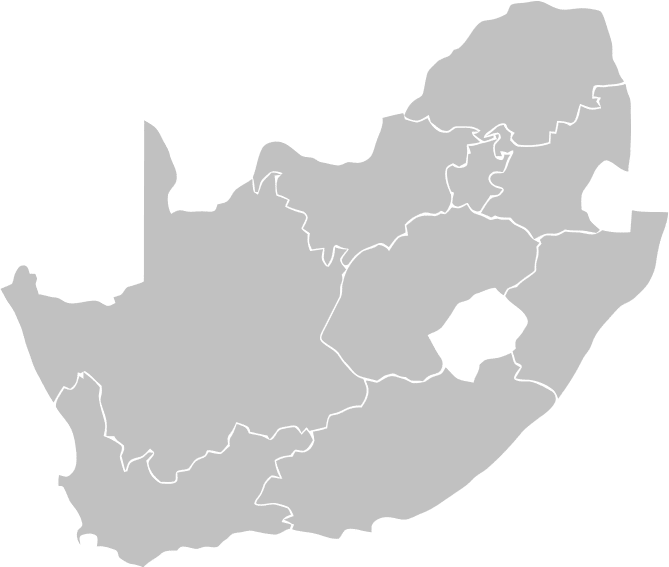 Select a province - South Africa
