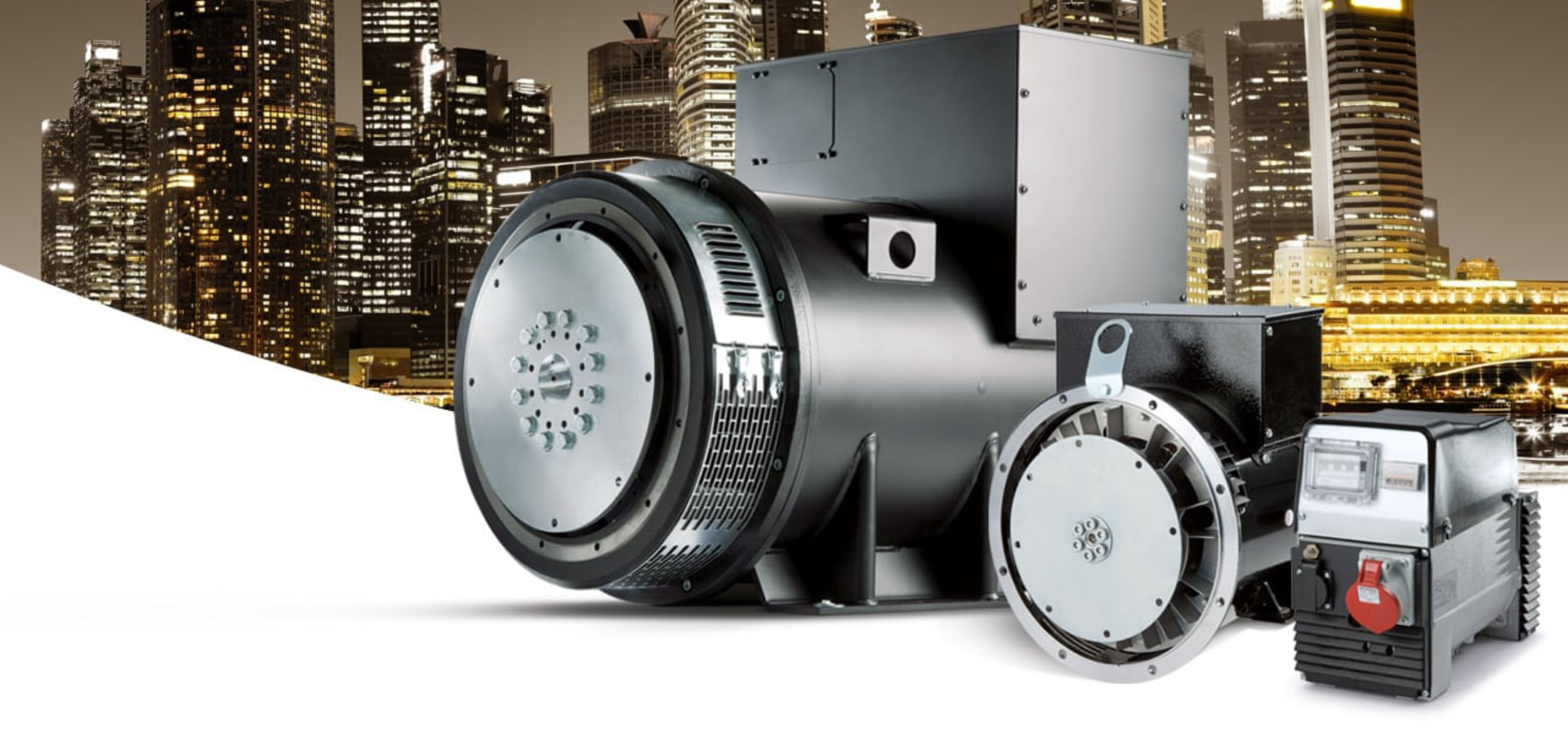 Sincro Alternatorsfor the generator market - Electric generator